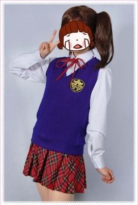 アイドルマスター2 ザベストスクール メイト風 コスプレ衣装