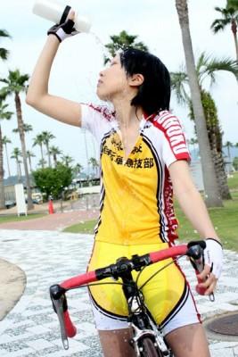 弱虫ペダル 総北高校自転車競技部 サイクルウェア コスプレ衣装 カーレース服 ユニフォーム
