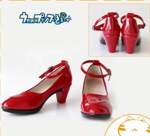 コスプレブーツ うたのプリンスさまっ 七海春歌 高級コスプレブーツ 靴