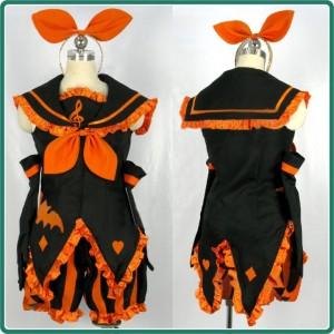 V家/VOCALOID ハロウィーン 鏡音リン コスプレ衣装