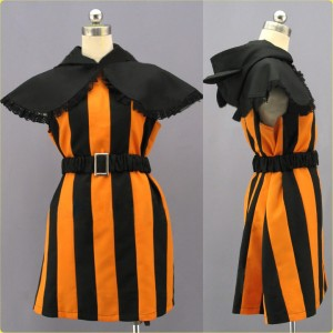 V家/Vocaloid ドリメル鏡音リン ハロウィーン コスプレ衣装