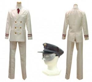 ミラクル ト☆レイン大江戸線へようこそ 車掌風衣装 コスプレ衣装