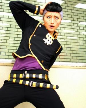 ジョジョの奇妙な冒険 虹村億泰(にじむらおくやす) コスプレ衣装