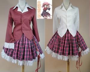 生徒会の一存 女性制服 桜野くりむ コスプレ衣装