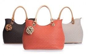 2013新作 ファッション 女 欧米 トラッド シンプル ハンドバッグ 斜めがけ ピンク