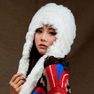 新品ボア帽子レディース冬韓派ファッションカワイイ