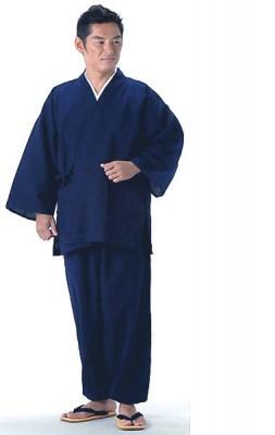 ルームウェアとして大人気な作務衣 メンズ作務衣 冬用 男女兼用別珍作務衣