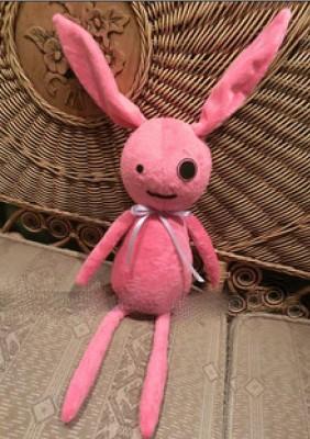 アニメ人形 VOCALOID3 結月縁 ピンクのうさぎ コスプレアクセサリー