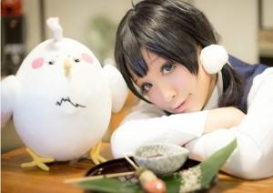 アニメ人形 たまこまーけっと 鳥 / デラ・モチマッヅィ ふわふわ コスプレ