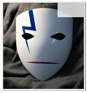 DarkerthanBLACK-黒の契約者-黒(ヘイ)/李舜生(リ・シェンシュン) マスク コスプレ道具
