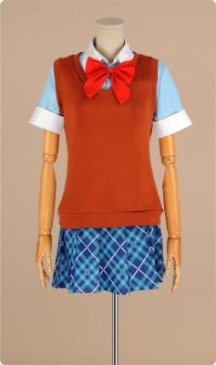 貧乏神が! 桜市子(さくら いちこ) コスプレ衣装 新品