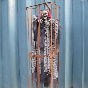 ハロウィン ハロウィングッズ ハロウィン飾り 囚人用の檻に鬼をつる