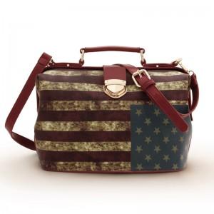 2013新作欧米 国旗柄 トラッド ファッション レディース