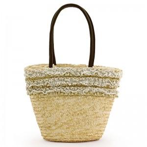 2013新作 日派 レース レディース 編み物 メッシュバッグ 鞄