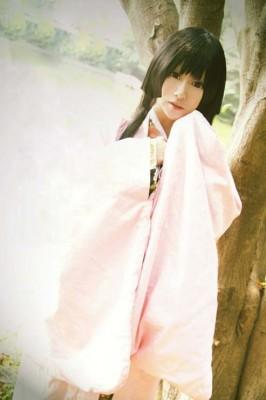 【ぬらりひょんの孫】山吹乙女(やまぶき おとめ)プリント和服 コスプレ衣装