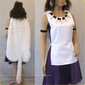 宮崎駿 もののけ姫 サンSan 風 コスプレ衣装 イベント パーティー 変装 仮装 コスチューム ジブリ サン お面付