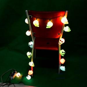 ハロウィン 装飾 パーティー グッズ ドクロ提灯