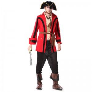 パイレーツ・オブ・カリビアン 海賊衣装 ハロウィーン仮装 大人用コスチューム