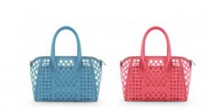 2013 新作 打ち出しデザイン 透明 スエード レディース バッグ