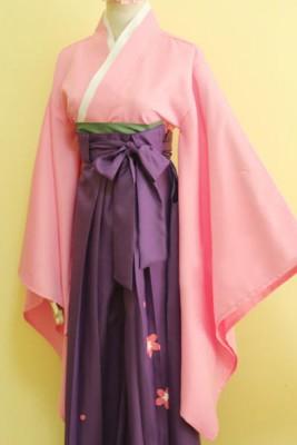 カードキャプターさくら 木之本 桜/さくら 和服 コスプレ衣装