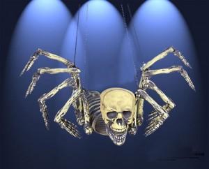 パーティー飾り ハロウィン 装飾 恐怖ドクロ骨組み