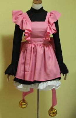 カードキャプターさくら 木之本 桜 洋服 コスプレ衣装 メイド服 猫装