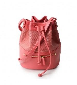 韓国派 2013新作 レディース リュック 打ち出しデザイン かごバッグ