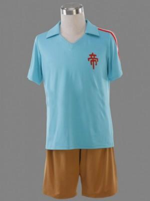 帝国学園 鬼道 有人 夏のサッカー服 1代 イナズマイレブン コスプレ衣装