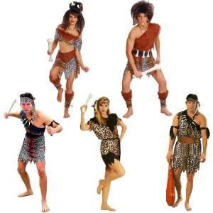 ハロウィーン 衣装 原始人 インディアン 豹柄 メンズ用 コスプレCOSPLAY仮装 変装パーティー イベント