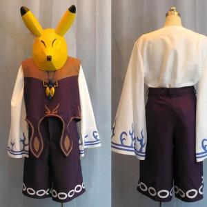ゼルダの伝説 カーフェイ風 コスプレ衣装 新品