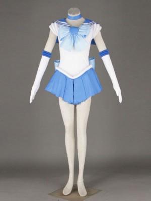 水野亜美 美少女戦士セーラームーン 戦闘服 コスプレ衣装