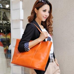 2013新 トートバッグ 欧米 ファッション 買い物袋 ショルダーバッグ ブラック 本革 レディース