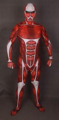 進撃の巨人 超級 超大型巨人 ボディスーツ コスプレ衣装