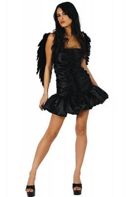 ブラック エンジェルコスチューム セクシーコスチューム衣装