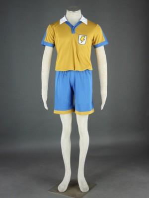 雷門中学 夏のサッカー 第2代 イナズマイレブン コスプレ衣装