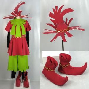ゼルダの伝説 ムジュラの仮面 スタルキッド 風 コスプレ衣装