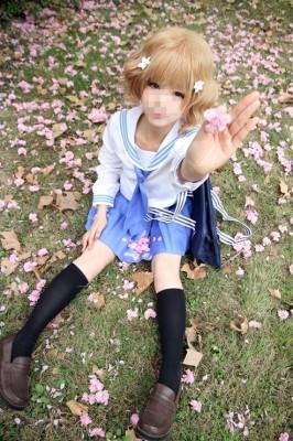 花咲くいろは 松前緒花 セーラー服 制服 コスプレ衣装