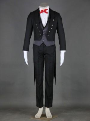 黒執事 セバスチャン2代 コスプレ衣装 男性の7セット タキシード