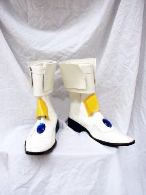 魔法少女リリカルなのは 高町 なのは(たかまち なのは) コスプレブーツ靴