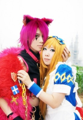 ハートの国のアリス~ Wonderful Wonder World ~ -チェシャ猫ボリス アリス コスプレ衣装 ボリス=エレイ