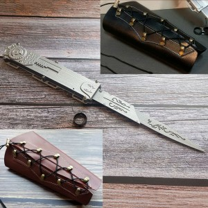 アサシン クリードⅡ エツィオ コスプレ道具 ソード プラスチック 武器