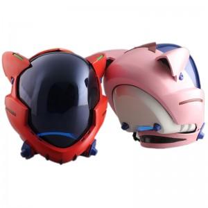 新世紀エヴァンゲリオン EVA  劇場版 アスカ 真希波 コスプレ道具 ヘルメット