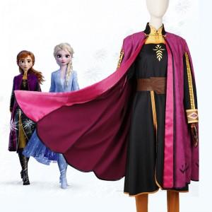 Disney ディズニー アナと雪の女王2 Frozen 2 アナ ディプピンク コスプレ衣装