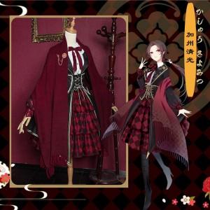 刀剣乱舞 加州清光 かしゅうきよみつ ロリータ 同人洋服 コスプレ衣装