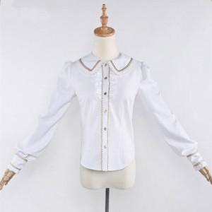 刀剣乱舞 同人洋装セット シャツ 長袖 金柄 シャツ 日常可能