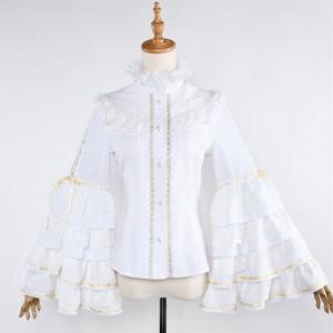 刀剣乱舞 同人洋装セット シャツ ロリータ風 姫袖 ブラウス