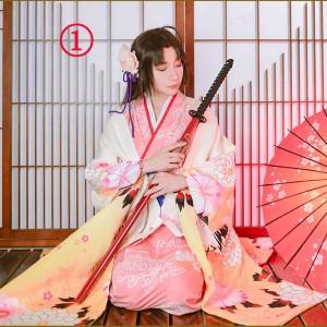 Fate grand order 空の境界 両儀式(りょうぎ しき)鶴 花嫁 着物 イベント 和服 コスチューム