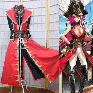 Fate/Grand Order フェイト/グランドオーダ フランシス・ドレイク 船長 コスプレ衣装 コスチューム