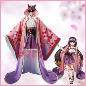 Fate/Grand Order 刑部姫 コスプレ衣装 即納 コスチューム