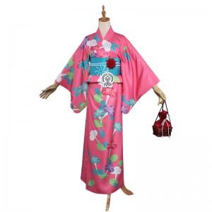 フェイト/グランドオーダー ネロ 浴衣 赤セイバー コスチューム 櫻狩り 花火大会 浴衣